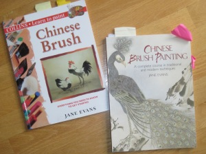 My two books by Jane Evans get a lot of use. The one on the right devotes ten pages to pine.