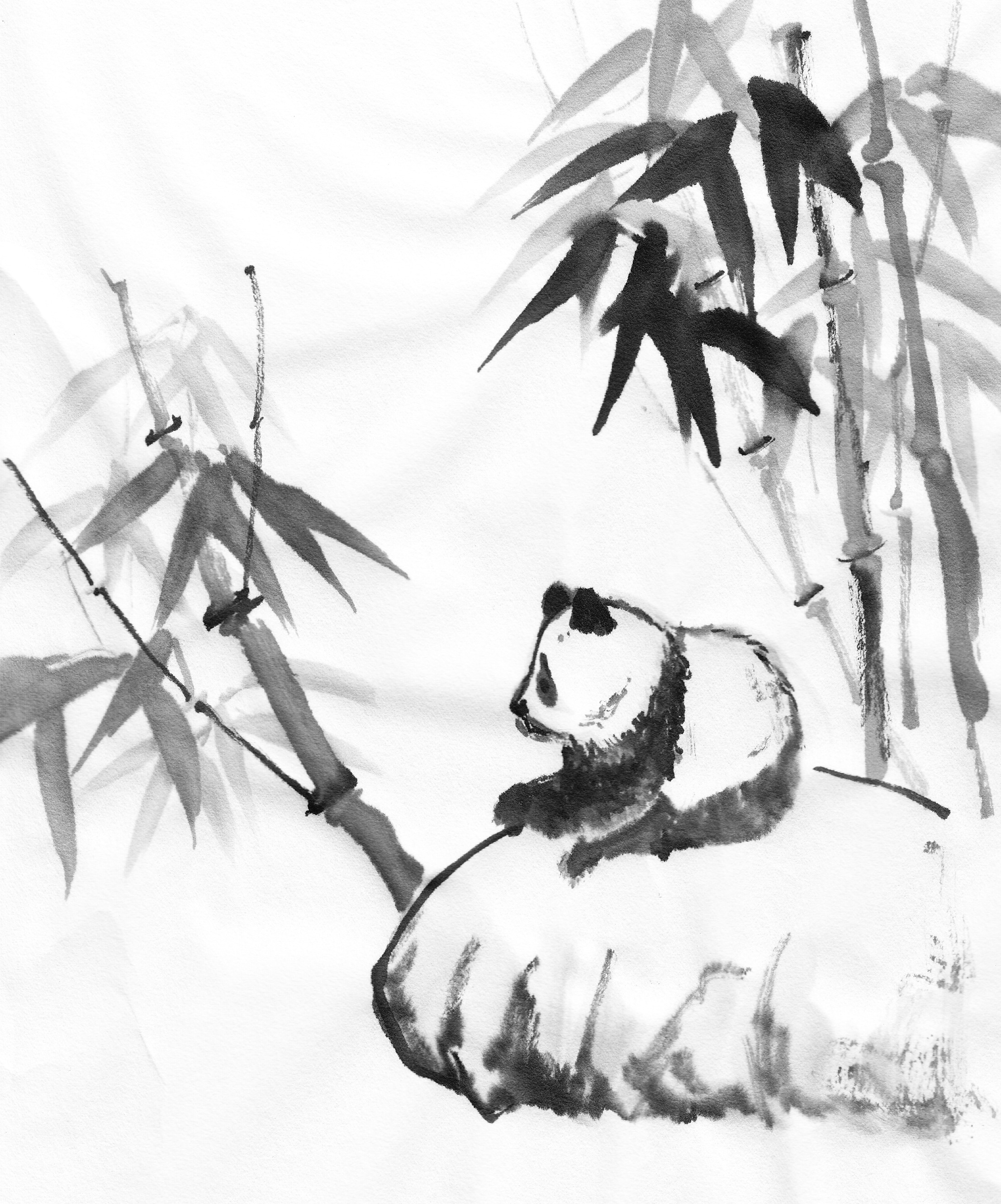 If you paint pandas… | followmybrushmarks