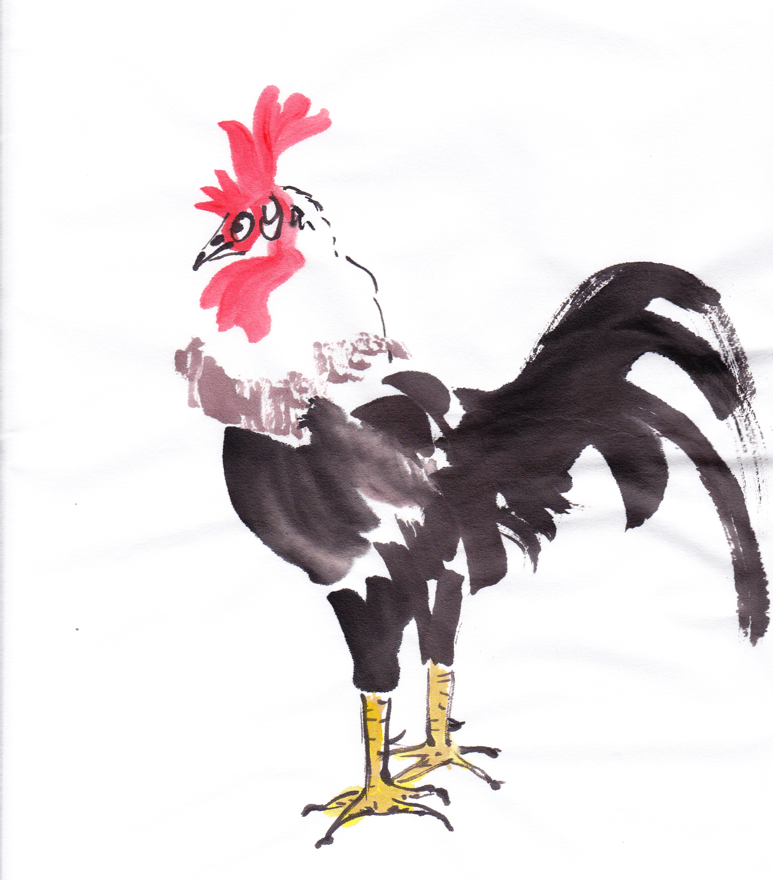 how to say rooster in chinese